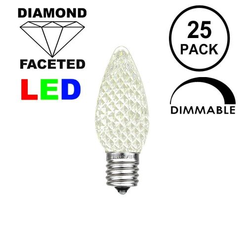 small resolution of picture of warm white c7 led replacement bulbs 25 pack