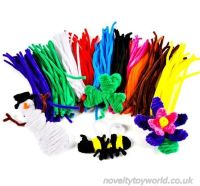 Bulk Buy | Coloured Pipe Cleaners - Kids' Arts & Craft ...