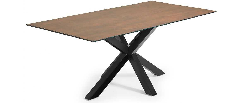 table en ceramique stone avec plateau