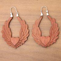 Sterling Silver Hoop Earrings   Jewelry on Trend   NOVICA