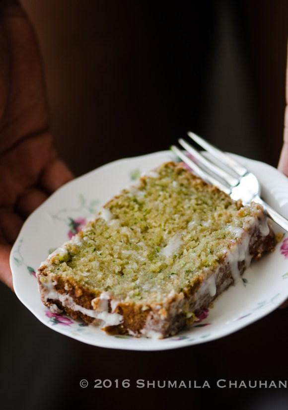 Zucchini & Coconut Lime Bread