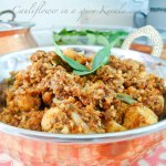 Garam Masala Tuesdays: Cauliflower in a spicy kerala curry paste