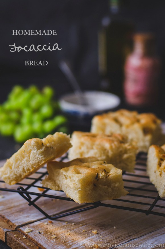 Focaccia The novice Housewife