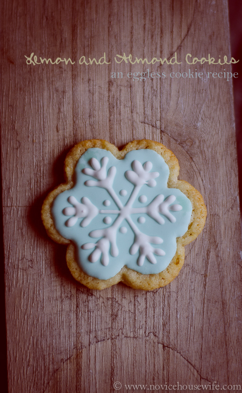Eggless icing recipe for cookies