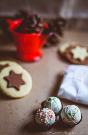 Vanilla and chocolate star cookies #donna #hay #cookies #recipe