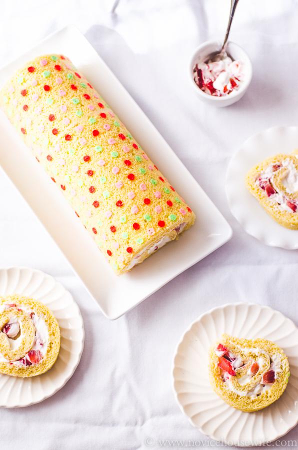 Deco Roll Cakes Recipe
