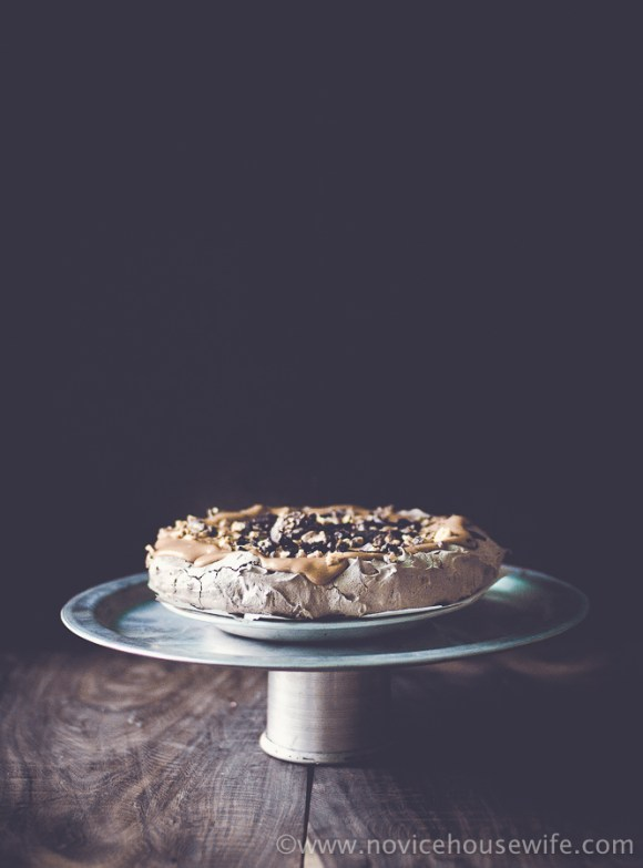 Sinful Chocolate Pavlova Recipe |The Novice Housewife