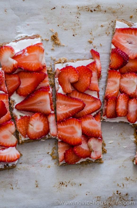 Strawberry Rye Tart   The Novice Housewife