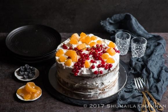 Orange and Blueberry Cake