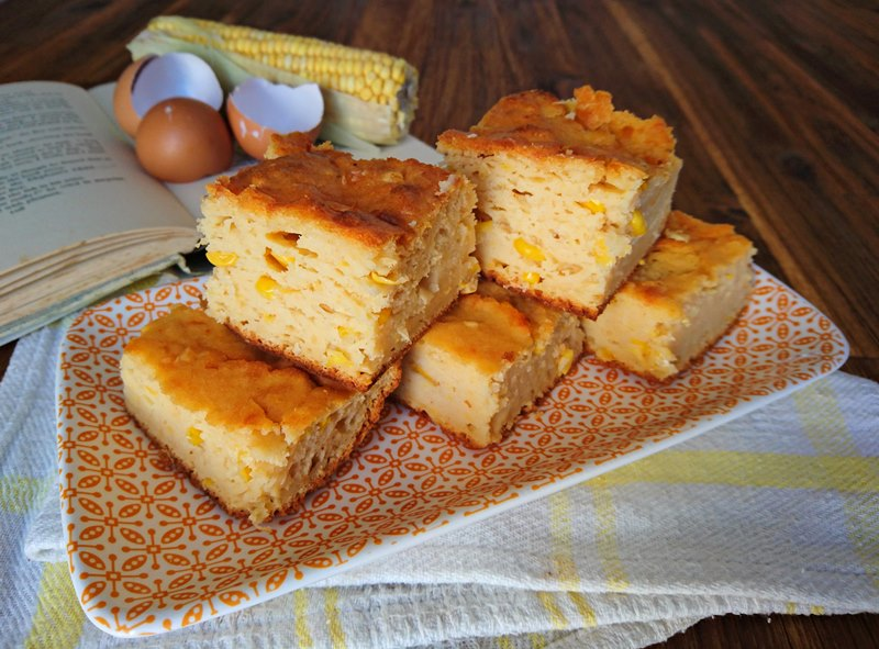 Creamed Sweetcorn Bread