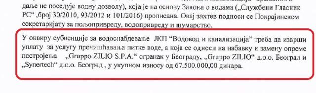 Građanski preokret: Vodovodna mafija u Zrenjaninu troši ogroman novac građana?