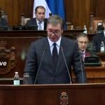 Vučić poslanicima o Kosovu i Metohiji: Moje je da saopštim istinu (UŽIVO)