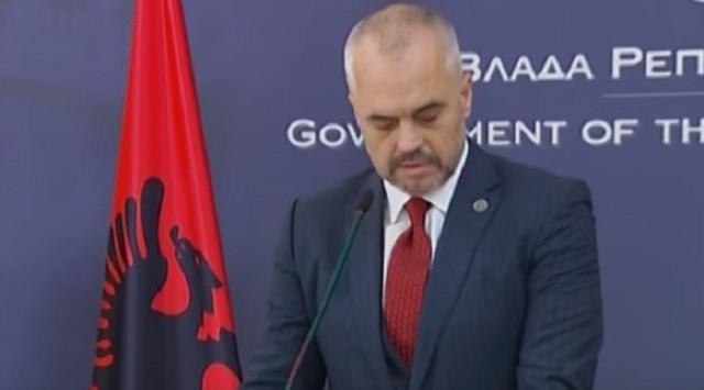 Edi Rama zagovara novu eru albansko-srpskih odnosa