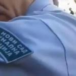 Kako bahati komunalni policajci beže kad im pokažeš zube (VIDEO)