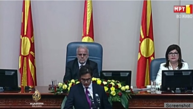 Pendarovski položio zakletvu i započeo petogodišnji mandat