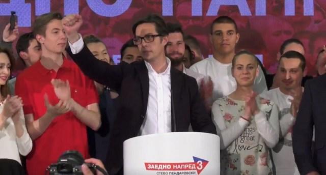Pendarovski izabran za prvog predsednika Severne Makedonije