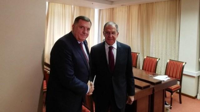 Dodik sa Lavrovom u Sankt Peterburgu