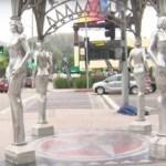 Ukradena statua Merilin Monro u Los Anđelesu (VIDEO)