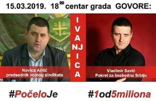 Savić: Antić pored ikone krsne slave treba da drži i sliku Veljka Mijailovića! PSS je osnovao Vojni sindikat