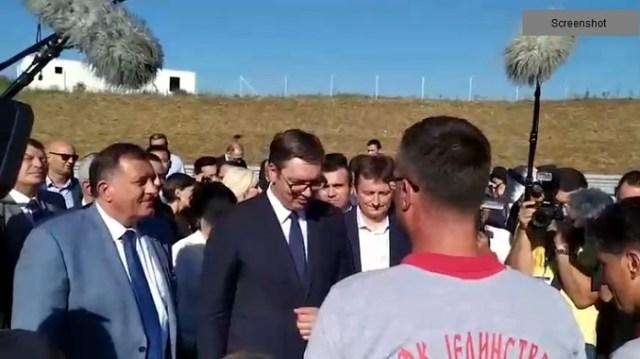 Vučić: Auto-put za ponos cele Srbije