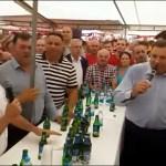 DODIK I VULIN NA BORBI BIKOVA Pevali zajedno hitove Baje Malog Knindže na 54. Kočićevom zboru