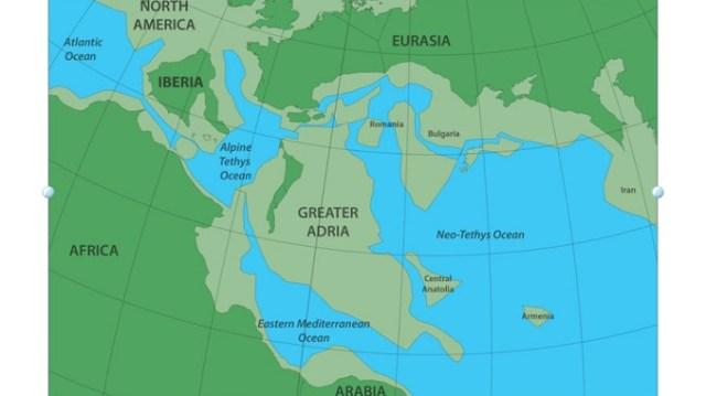 """Naučnici pronašli izgubljeni kontinent koji se """"podvukao"""" ispod Balkana"""