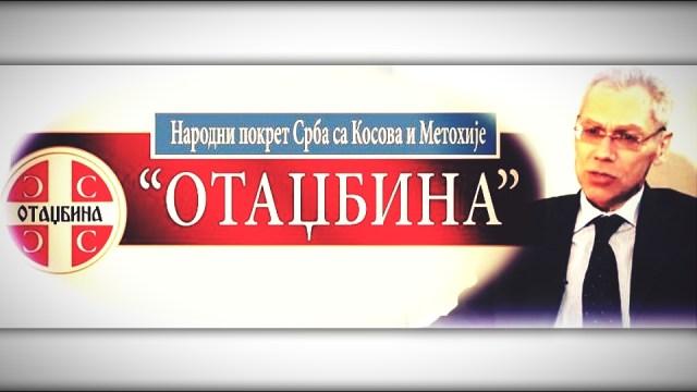 "Pokret Srba sa KiM ""Otadžbina"" Aleksandru Bocan Harčenku: Kako radili tako nam Bog pomogao"