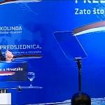 Grabar-Kitarović objavila predsedničku kandidaturu