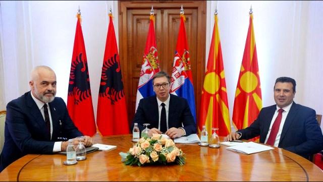 Sastanak Vučića, Zaeva i Rame: Obezbediti brži prelazak granice