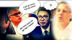 Bastać: Vučić u jakni od 3.000 evra traži da mu lupim šamar, a traži i Vesić. Kome da ga lupim?