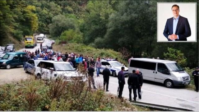 Kad Vučić obeća: Nastavljena izgradnja MHE, građani blokirali put Brus-Kopaonik