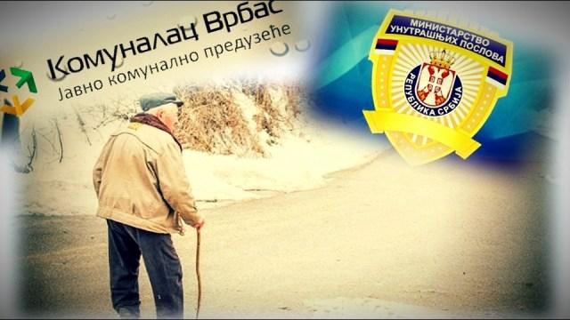 Policija i JKP Komunalac u akciji: Uhapšen penzioner kojeg je sud oslobodio duga za vodu!