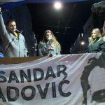 Obradović na protestu u Beogradu: Hvala vam na osvajanju moje slobode!