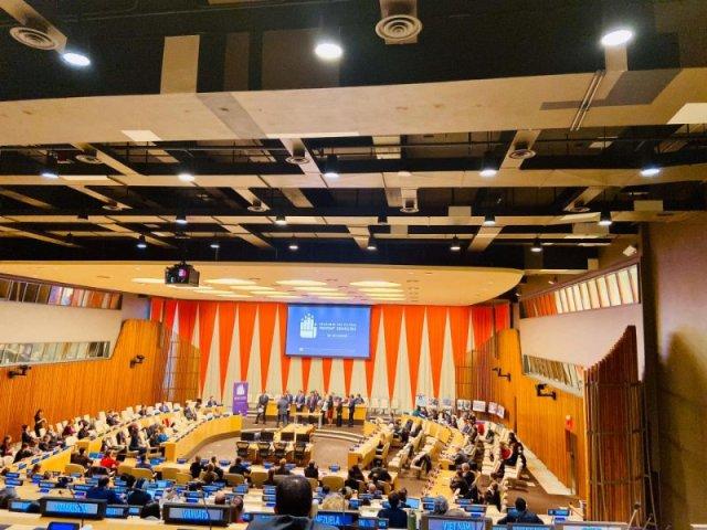 Glavna predstavnica IFIMES-a pri ECOSOC/UN Mernik Knee na godišnjici Konvencije o genocidu