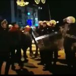 Sukob građana i policije u Nikšiću; Protest ispred Ambasade Crne Gore u Beogradu