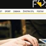 Uhapšena urednica portala zbog informacije da ROSU stoji na raspolaganju crnogorskim bezbednosnim organima