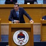 Skupština RS podržala Dodikov veto na posetu Mila Đukanovića