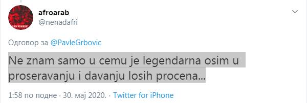 """Vesna Pešić podržala """"šalabajzera bez mozga u glavi, lošeg glumca i političku nulu"""" - Sergeja Trifunovića"""