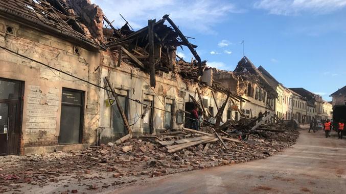 SPC: U zemljotresu značajno oštećeni pravoslavni objekti