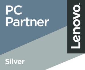 Logo Lenovo Silver