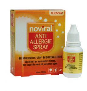 Hooikoorts Noviral Anti Allergie Spray