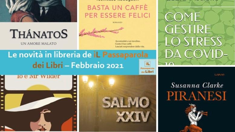 novità in libreria febbraio 2021
