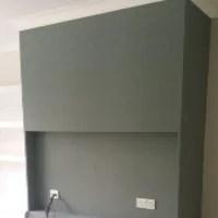 wallpaper tv unit