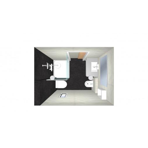 3338 Estudiar y valorar baño de 6 a 7 m2