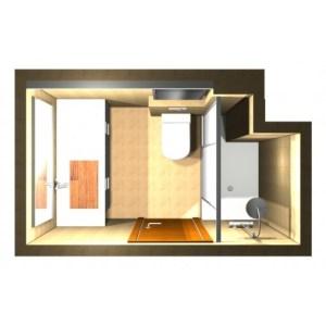 1580 Estudiar y valorar baño de 3 a 4 m2