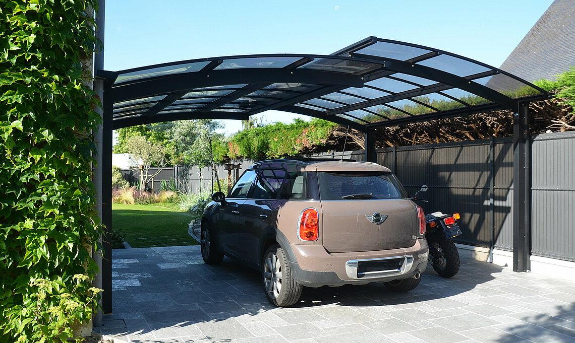 carport exterieur pour voiture novoferm