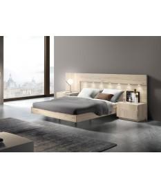 lit adulte avec chevets tete de lit