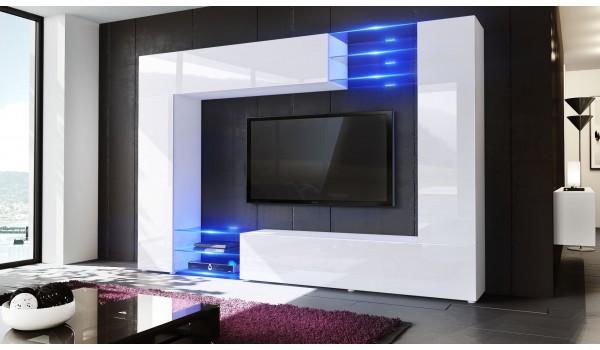 meuble tele mural design 12 finitions moderne au choix