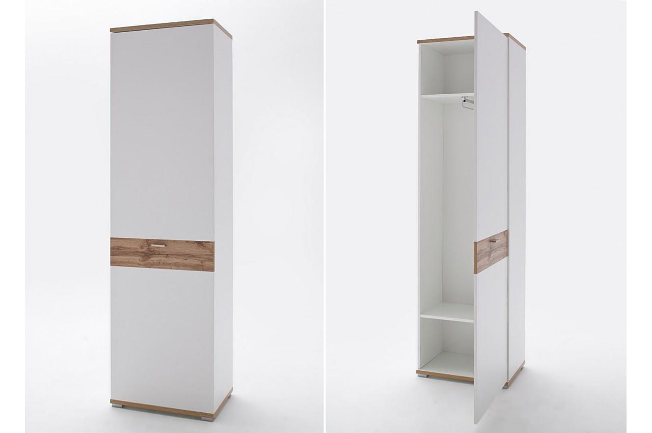 Meuble Dentre Vestiaire Design Blanc Amp Bois Pour