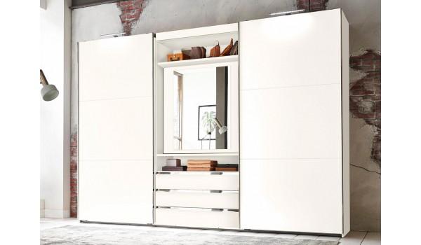 armoire de chambre avec miroir rotatif a 180